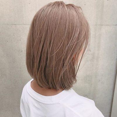 2020年最新版 大人気の髪色 ミルクティーベージュ 総まとめ 美容師