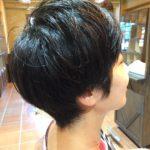 黒髪ショートヘア《ビフォーアフター》