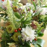 【募集します】9月の小さなお花の教室:初秋を楽しむ ♪