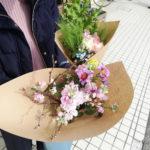 2020年、初めての「Flower noteの花屋」