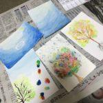 水彩絵の具を使ってみた