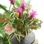 7月の「小さなお花の教室(生花)」の ご案内