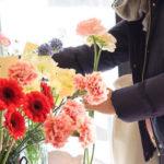 1月の小さなお花屋さんは…