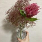 お家にお花がある生活。